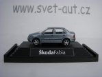 Škoda Fabia sedan silverblue 1:87 Kaden