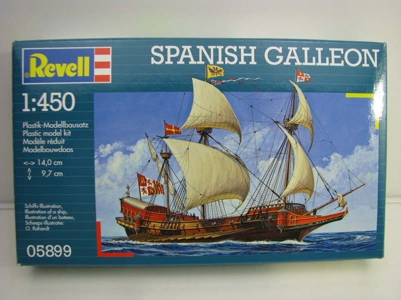 Spanish Galleon stavebnice 1:450 Revell 05899