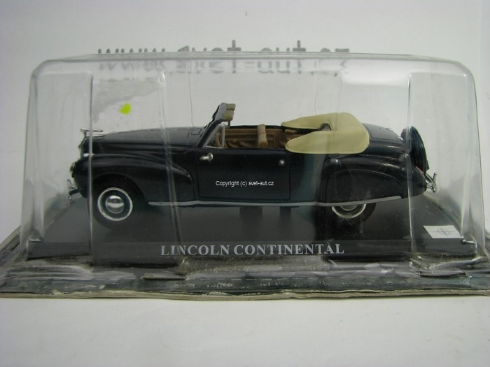 Linkoln Continental Blue 1:43 Del Prado