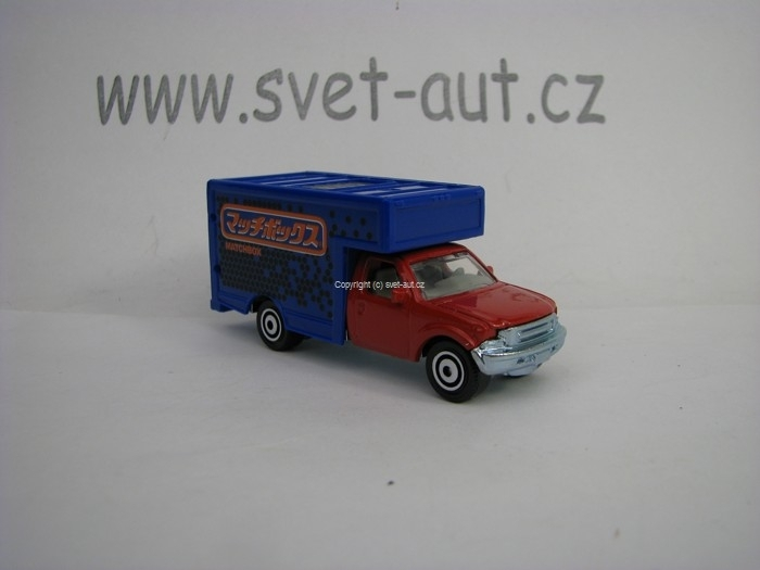 Mattel Matchbox Angličák v krabičce MBX Moving Van MBX Adventure