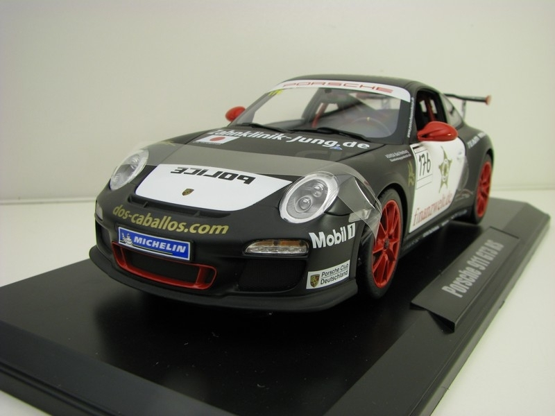 Porsche 911 GT3 RS Team Racing Police No.176 1:18 Norev