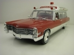 Cadillac Superior S+S 48 HT Ambulance 1966 Precision Collection 1:18 Greenlight