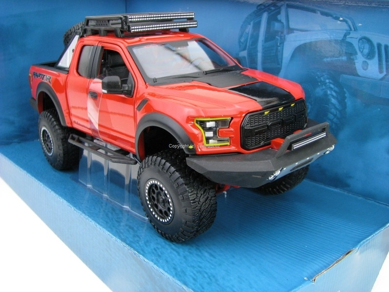 Ford F-150 Raptor 2017 Red 1:24 Maisto Off-Road