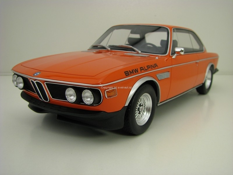 BMW 3.0 CS Alpina B2 Inka Orange 1:18 OttOmobile OT214