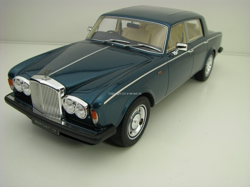 Bentley T2 1977 Blue 1:18 GT Spirit GT091