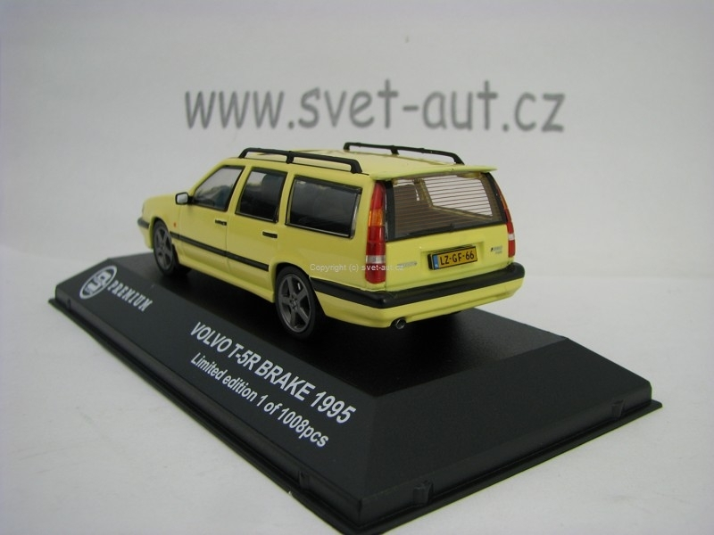 Volvo T-5R Break 1985 Yellow 1:43 Triple 9 Collection