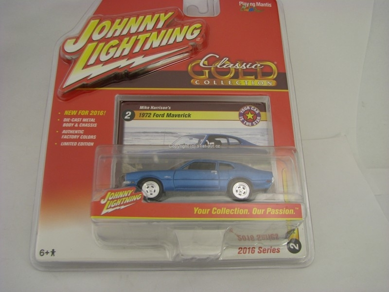 Ford Mawerick 1972 Johnny Lightning 2016