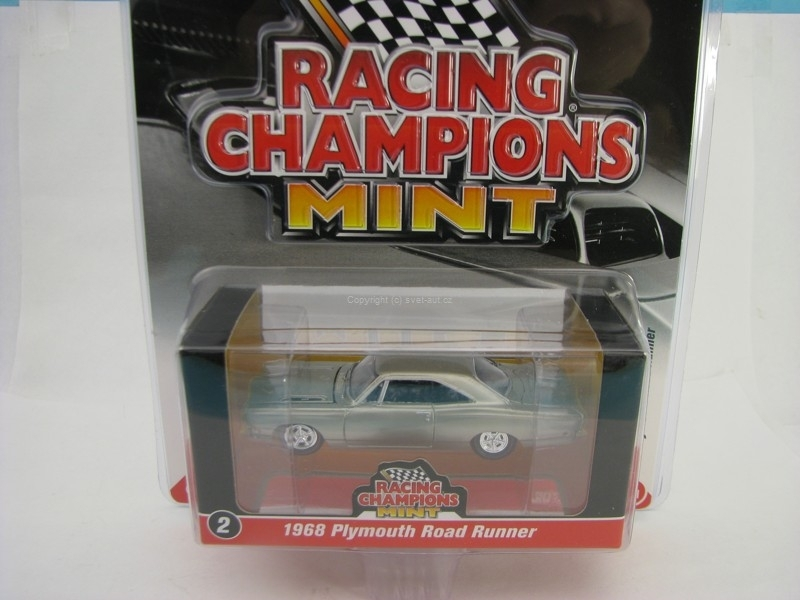 Plymouth Road Runner 1968 Racing Champions Mint 2016