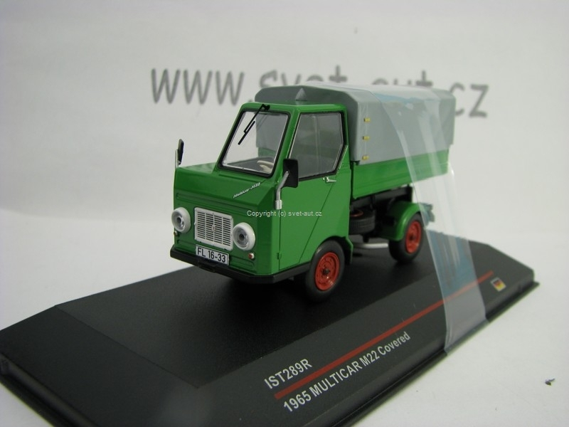 Multicar M22 1965 Covered 1:43 IXO IST289R