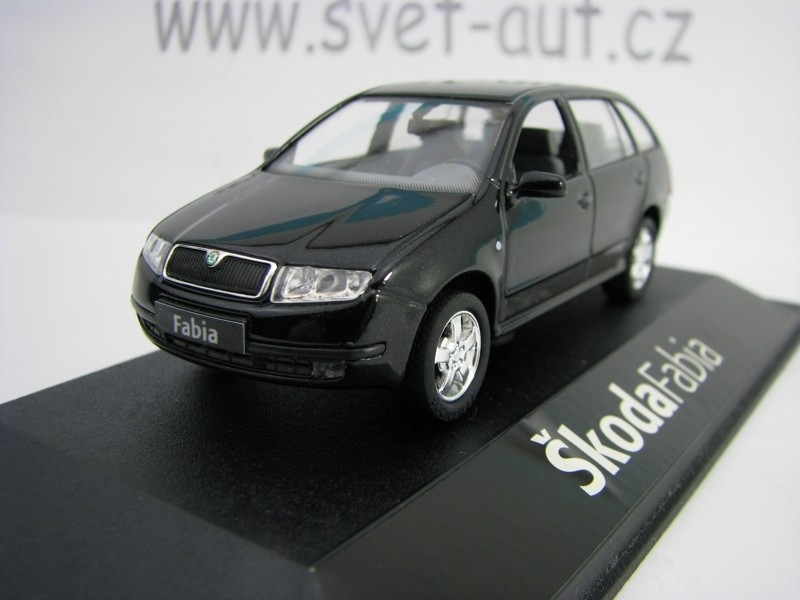 Škoda Fabia Combi 2001 black Magic 1:43 Kaden