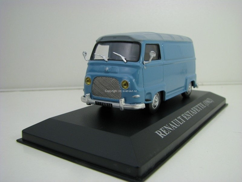 Renault Estafette 1962 Blue grey 1:43 Ixo Altaya