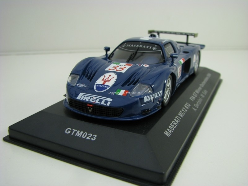 Maserati MC12 No.33 Fia GT Winner Oschersleben 2004 1:43 Ixo