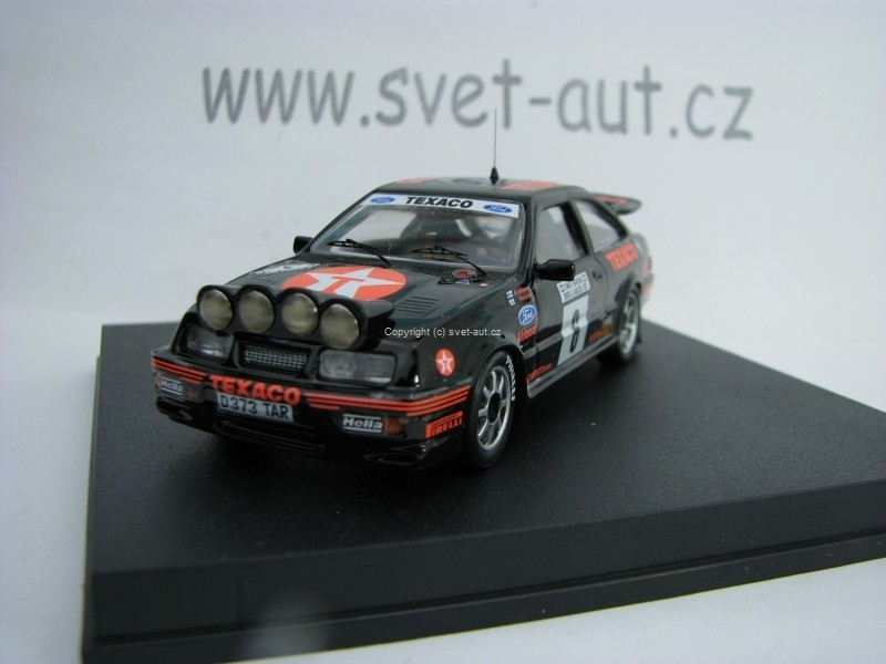 Ford Siera Cosworth 2nd 1000 Lakes Rally87 No.6 Vatanen 1:43 Trofeu