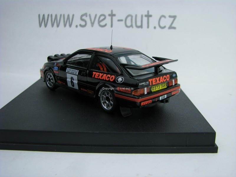 Ford Siera Cosworth 2nd 1000 Lakes Rally87 No.6 Vatanen 1:43 Tro