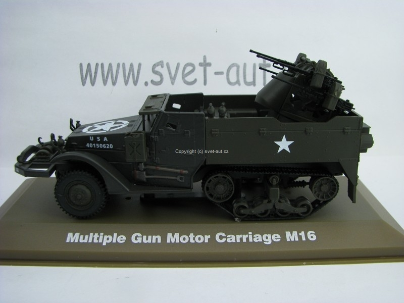 Halftrack M16 Multiple Gun Motor Carriage 1:43 Atlas