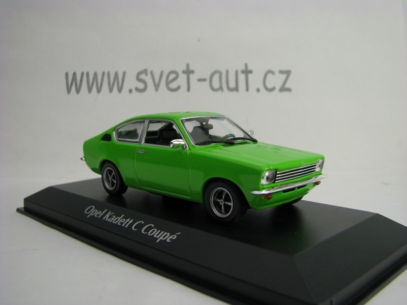 Opel Kadett C Coupé 1974 Green 1:43 Maxichamps