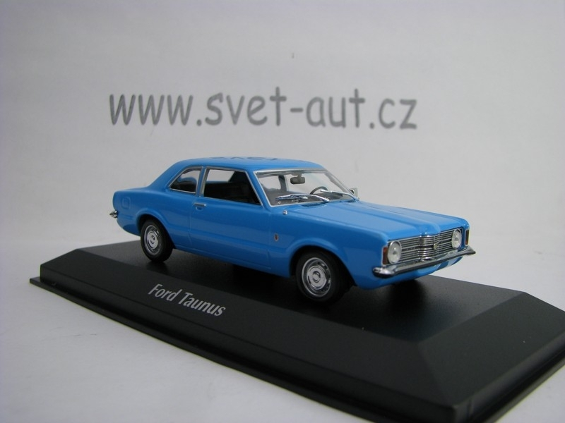 Ford Taunus 1970 Light Blue 1:43 Maxichamps