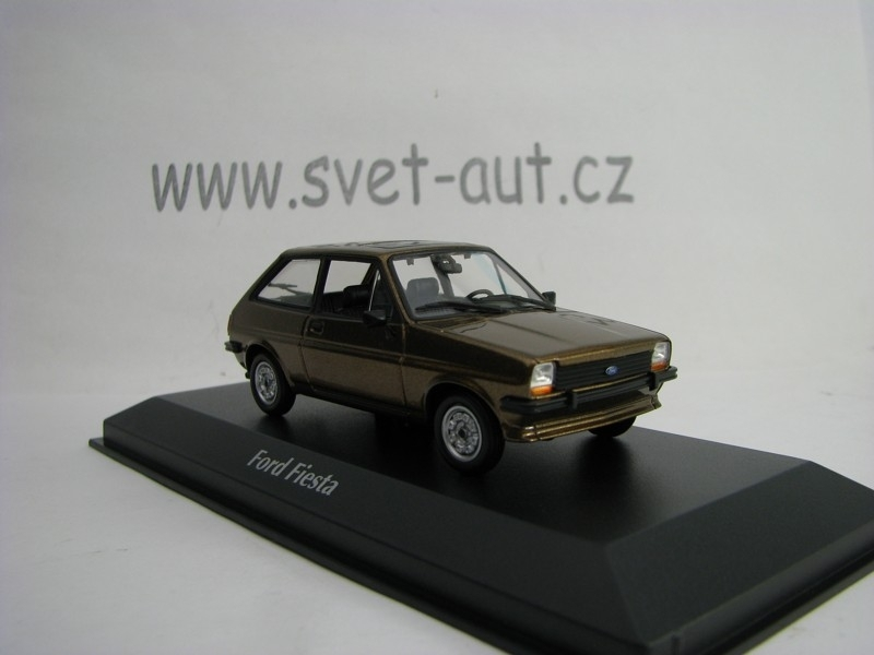 Ford Fiesta 1976 Light Brown Metallic 1:43 Maxichamps