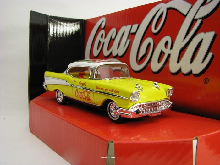 Chevrolet Bel Air 1957 Coca-Cola Matchbox Collectibles 37974