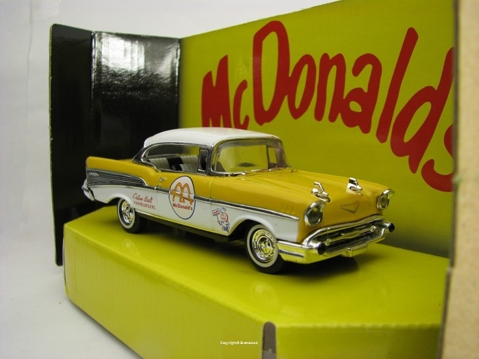 Chevrolet Bel Air 1957 McDonalds Matchbox Collectibles 38261