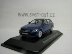 Mercedes-Benz C-Klasse T-Modell Briliant Blue Metallic 1:43 Norev