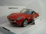 BMW Z8 Roadster 2002 Red 1:24 Motor Max