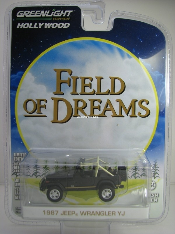 Jeep Wrangler YJ 1987 Field Of Dreams 1:64 Hollywood Greenlight