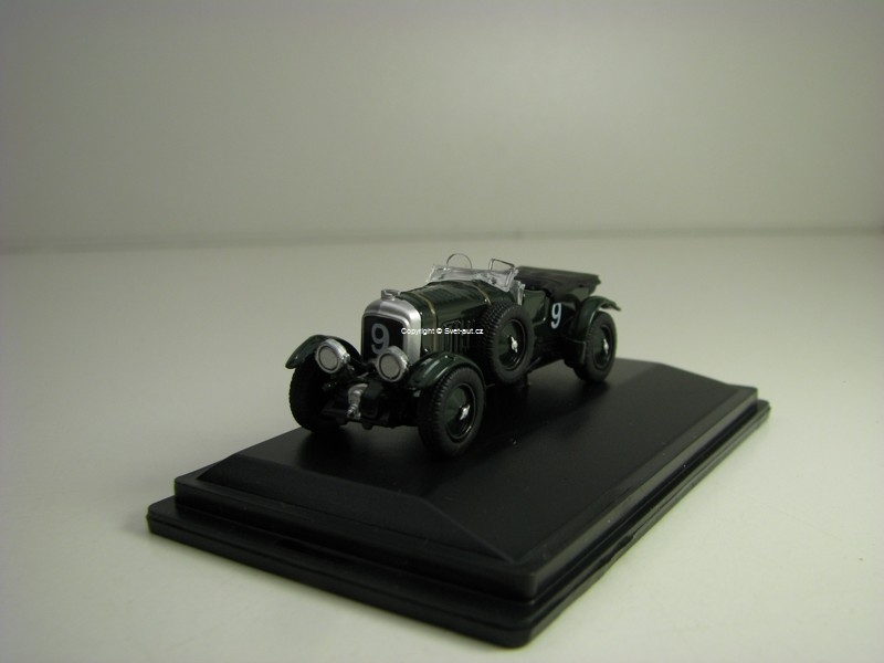 Bentley Biower Le Mans 1930 No.9 Birkin/Chassagne 1:76 Oxford