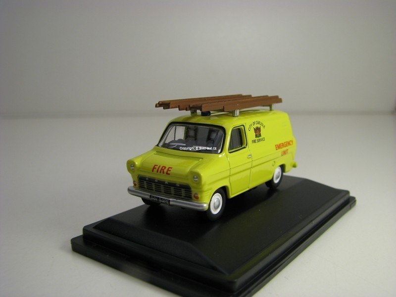 Ford Transit Mk1 City Of Carlisle Fire Service 1:76 Oxford