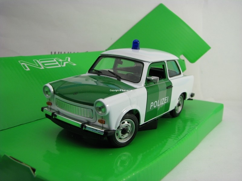 Trabant 601-S Polizei 1:24 Welly