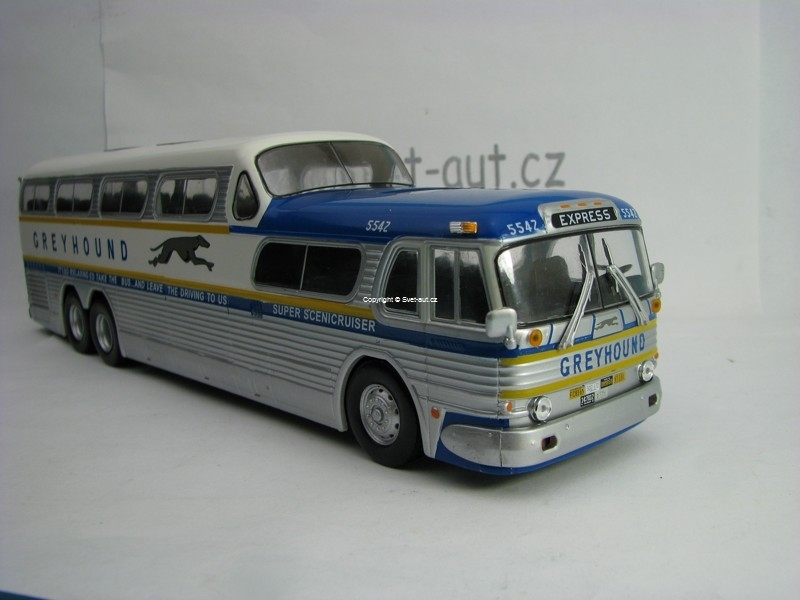 Autobus Greyhound Scenicruiser 1:43 Atlas