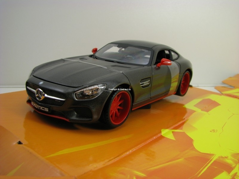 Mercedes-Benz AMG GT Exotics Grey 1:24 Maisto