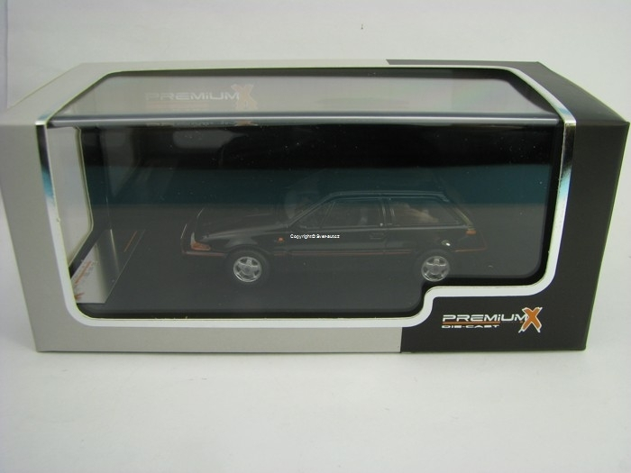 Volvo 480 Turbo 1987 Black 1:43 Premium X