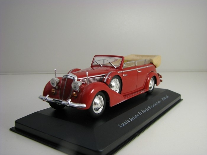 Lancia Astura IV Serie Ministeriale 1938 Red 1:43 Starline Models