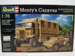 Monty s Caravan Leyland Retriever a Scout Car 1:76 Kit Revell