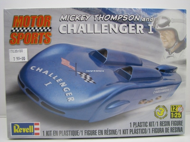 Mickey Thompson's Challenger I with figure 1:25 Kit Revell
