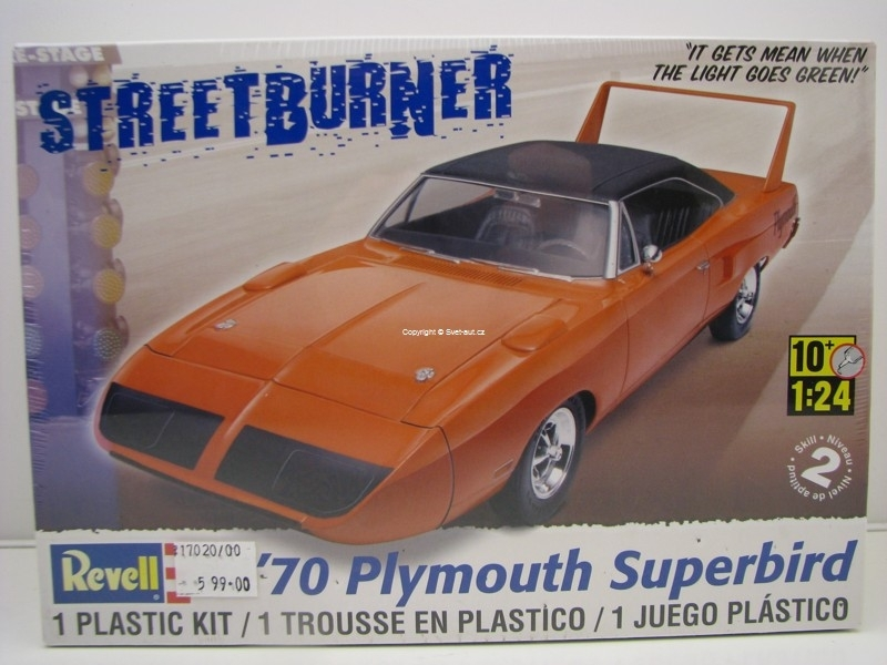 Plymouth Superbird 1970 1:24 Kit Revell