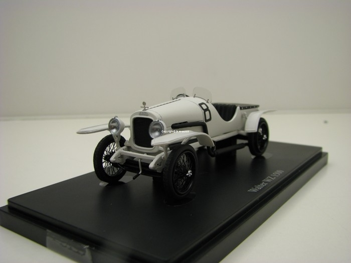 Walter WZ 1500 No.8 Hill Climb 1924 White 1:43 AutoCult