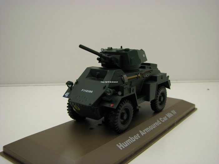 Humber Armoured Car Mk IV 1:43 Atlas Edition