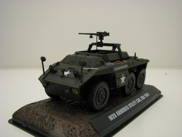 M20 Armored Utility Car USA 1944 1:43 Atlas Edition