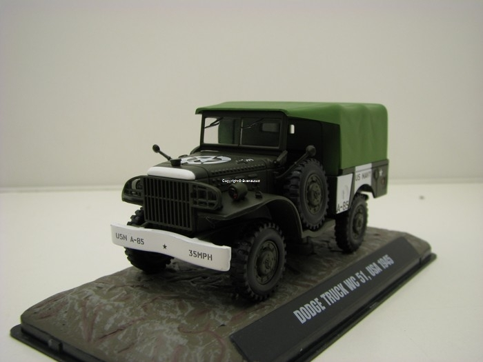 Dodge Truck WC 51 USA 1945 1:43 Atlas Edition