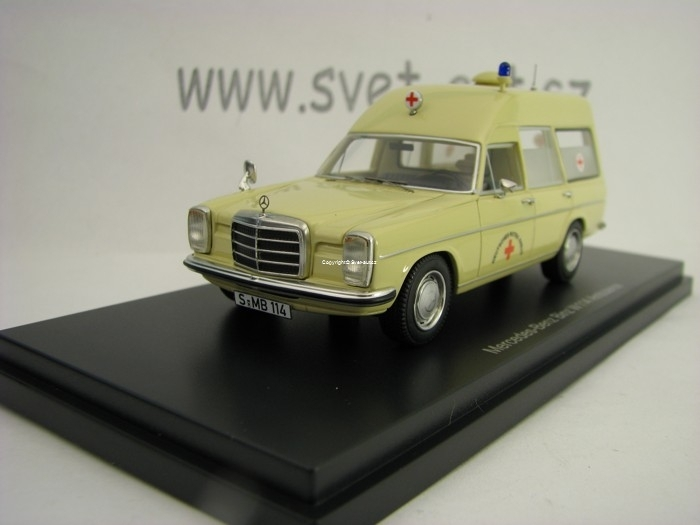 Mercedes-Benz Binz W114 Ambulance 1:43 BoS-Models