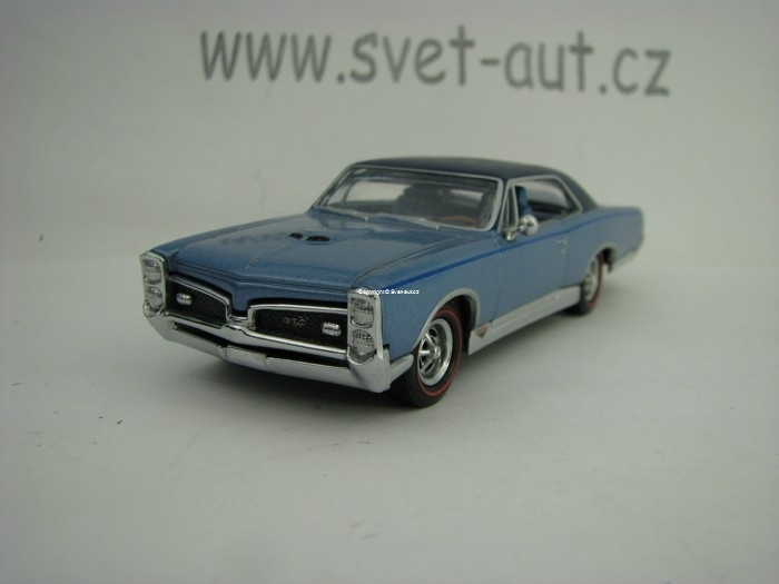 Pontiac GTO 1967 1:43 Matchbox Collectibles YMC03