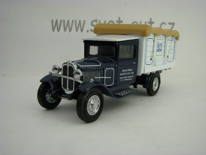 Ford AA 1932 Lieferwagen Ritter Sport Matchbox Collectibles