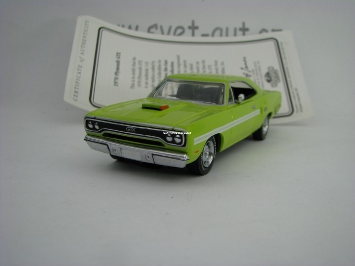 Plymouth GTX 1970 1:43 Matchbox Collectibles
