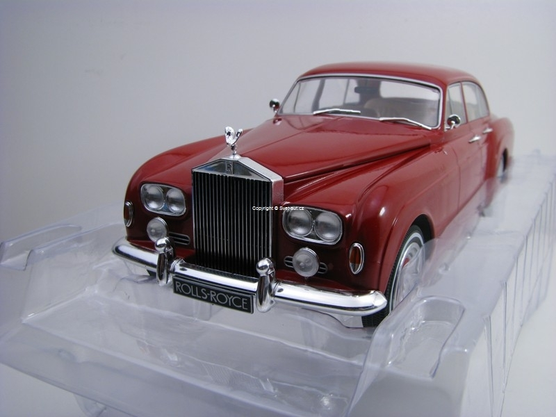 Rolls Royce Silver Cloud III Flying Spur H Purple 1:18 Modelcar Group