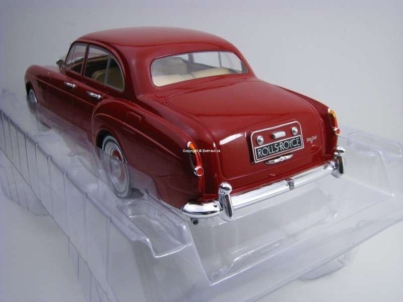 Rolls Royce Silver Cloud III Flying Spur H Purple 1:18 Modelcar
