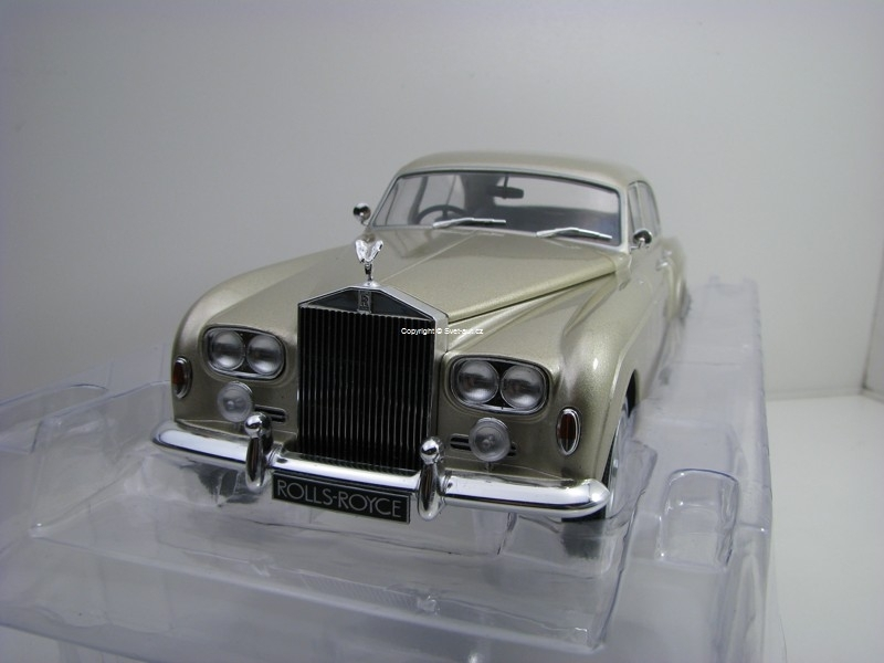 Rolls Royce Silver Cloud III Flying Spur H Beige metallic 1:18 MCG Modelcar Group
