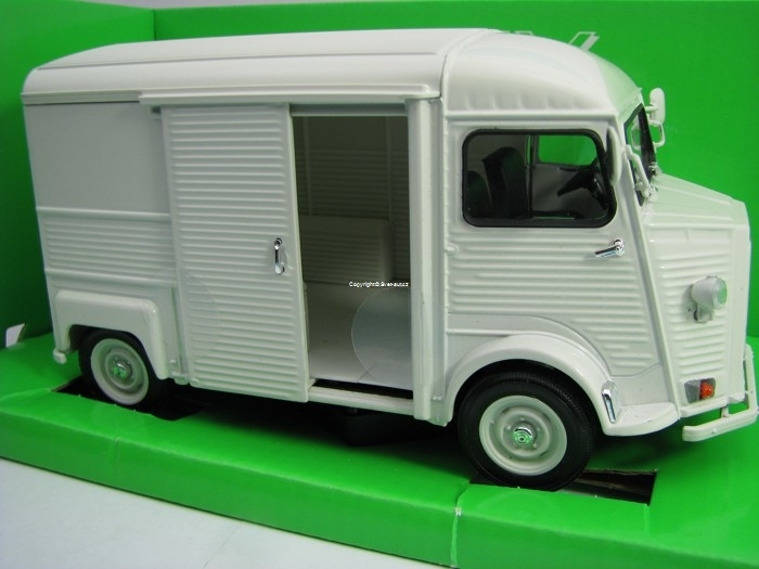 Citroen Type H Bílá 1:24 Welly