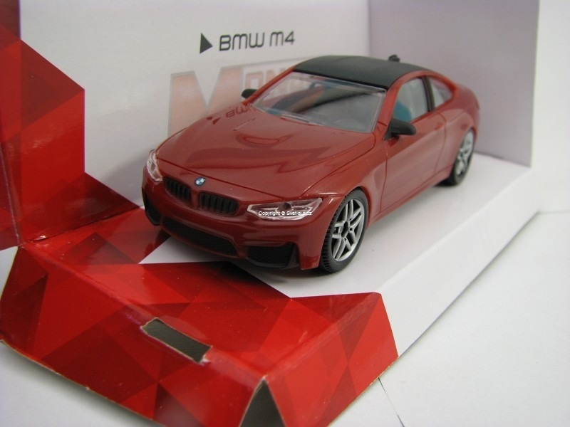 BMW M4 red 1:43 Super Fast Road Mondo Motors